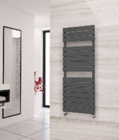 Eastgate Liso Anthracite Heated Towel Rails