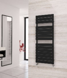 Eastgate Liso Black Heated Towel Rails