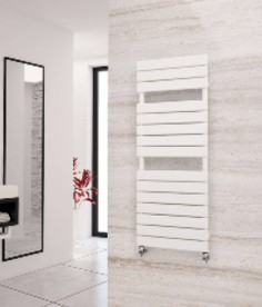 Eastgate Liso White Heated Towel Rails