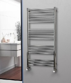 Eastgate Straight Stainless Steel Heated Towel Rails