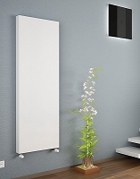 Eastgate Kompact White Single Panel Flat Vertical Radiator 2000mm High x 500mm Wide