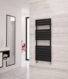 Eastgate Eclipse Black Heated Towel Rails