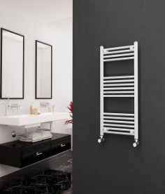 Eastgate Straight White Heated Towel Rails