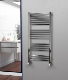 Straight Stainless Steel Electric Towel Rails