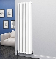 Eastgate Eclipse White Double Panel Vertical Radiator 1800mm High x 552mm Wide