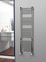 Eastgate Straight Polished 304 Stainless Steel Heated Towel Rail 1400mm High x 400mm Wide Electric Only