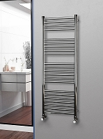 Eastgate Straight Polished 304 Stainless Steel Heated Towel Rail 1400mm High x 500mm Wide Electric Only