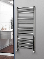 Eastgate Straight Polished 304 Stainless Steel Heated Towel Rail 1400mm High x 600mm Wide Electric Only