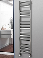 Eastgate Straight Polished 304 Stainless Steel Heated Towel Rail 1800mm High x 400mm Wide
