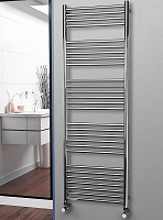 Eastgate Straight Polished 304 Stainless Steel Heated Towel Rail 1800mm High x 600mm Wide Electric Only