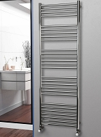 Eastgate Straight Polished 304 Stainless Steel Heated Towel Rail 1800mm High x 600mm Wide