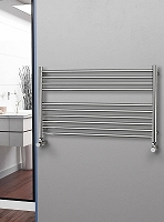 Eastgate Straight Polished 304 Stainless Steel Heated Towel Rail 600mm High x 1000mm Wide Electric Only