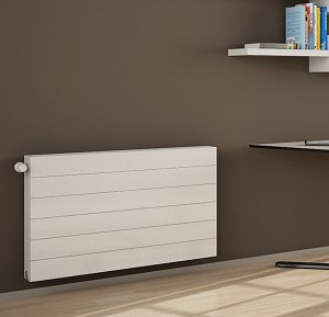 Eastgate Kompact Premium White Single Panel Flat Horizontal Radiator 400mm High x 1400mm Wide